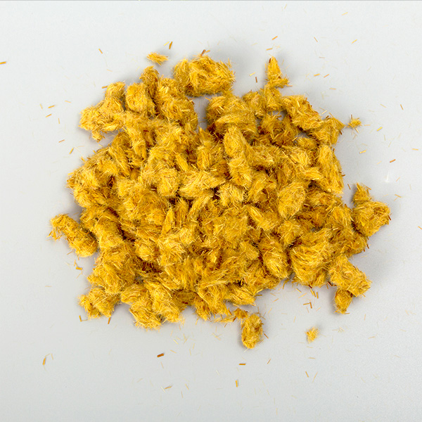 橙色芳纶短切丝
