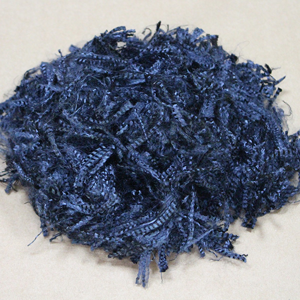 舟山蓝色芳纶短纤维